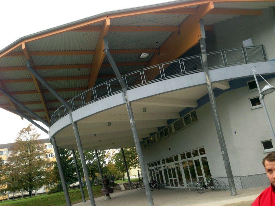 Elektroinstallation Gymnasium Senftenberg