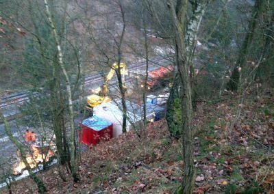 Baustromanlage in Hohenleipisch