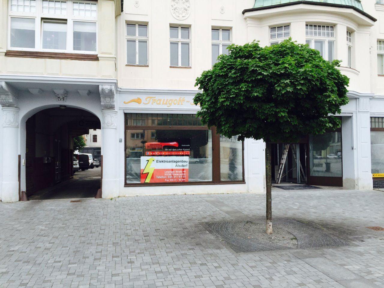 Elektroinstallation im Frisörsalon Markt Finsterwalde