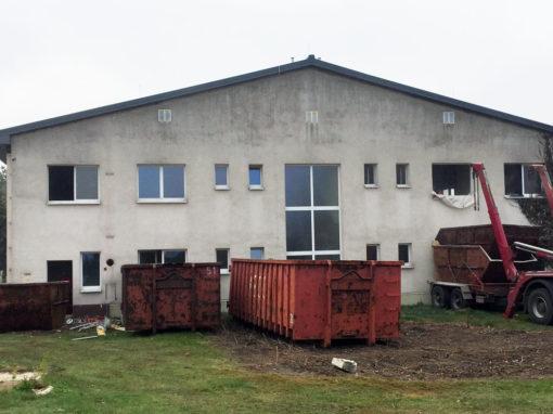 Röderlandhalle in Prösen
