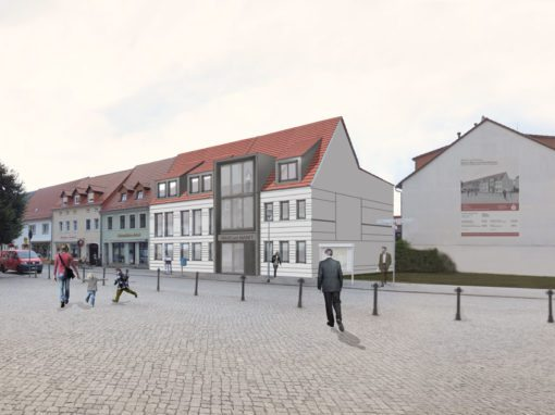 Herzberg Wohn und Geschäftshaus am Markt