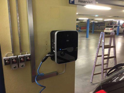 Ladesteckdosen für Elektroautos