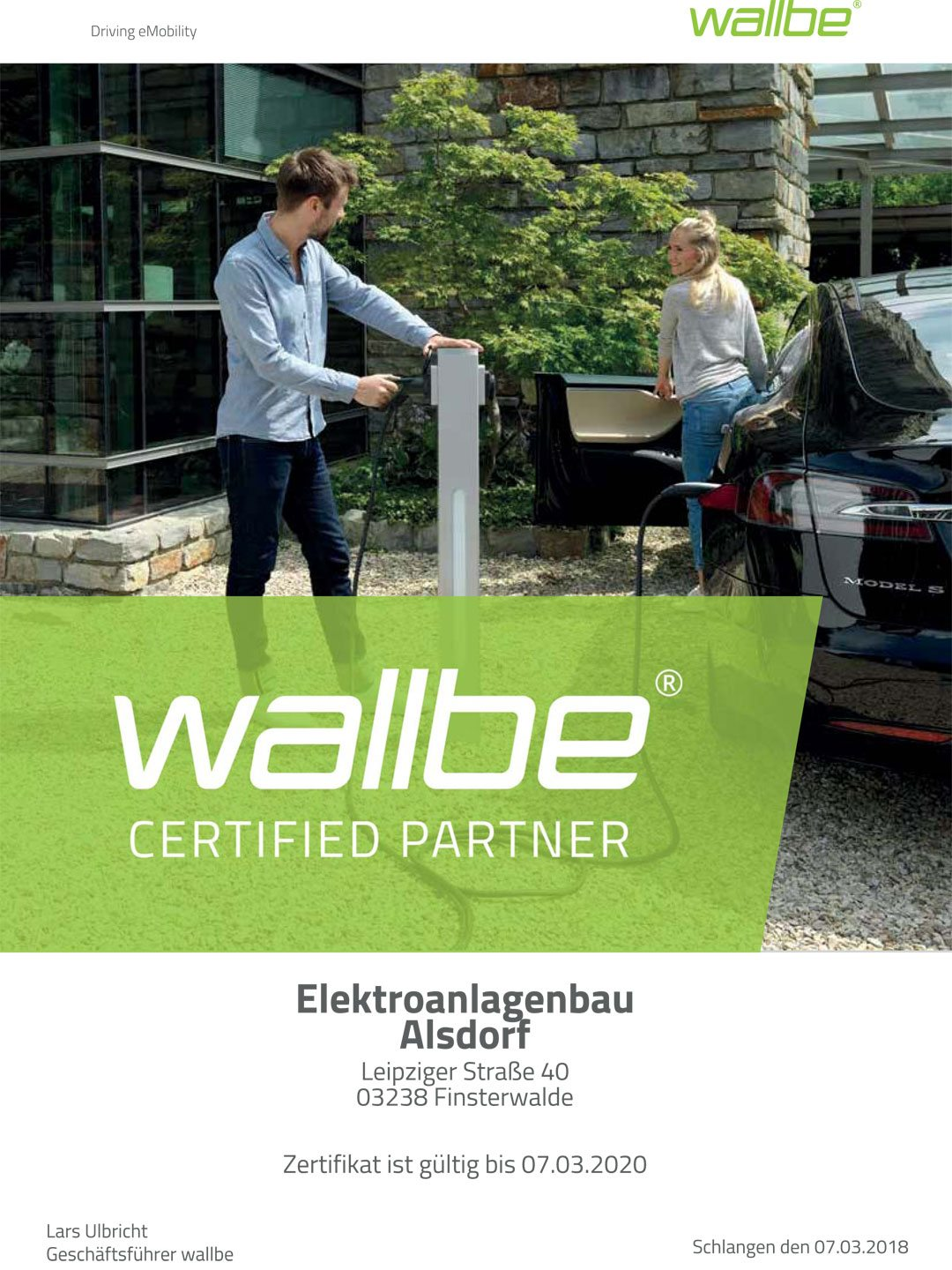 wallbe® eDriving eMobility