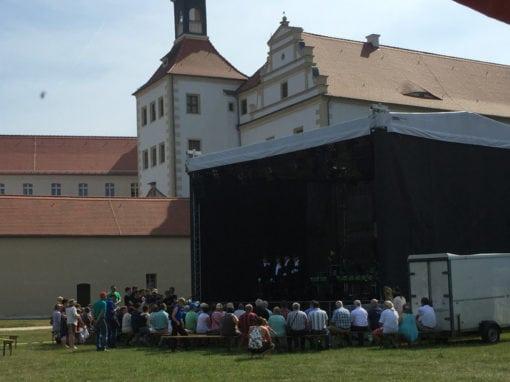 Eventstrom zum Chorfest in Finsterwalde